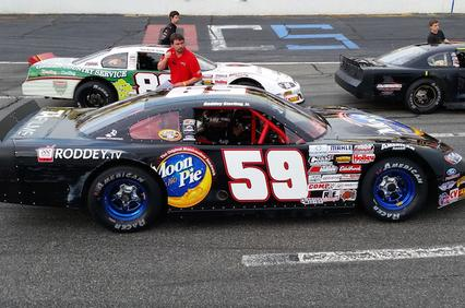 Roddey Finishes 13th At Orange County Speedway